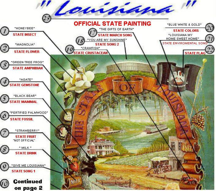 The 93 Best Louisiana State Symbols Images On Pinterest Louisiana