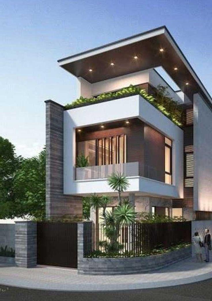49 Most Popular Modern Dream House Exterior Design Ideas Ev Dis Tasarimi Dis Tasarim Hayallerinizdeki Ev
