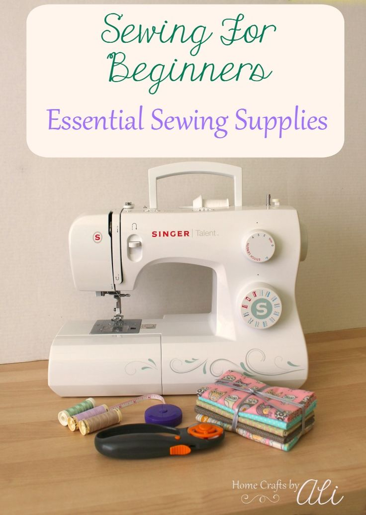 Sewing For Beginners Essential Sewing Supplies - A list of 11 basic sewing items you need as you start your sewing journey