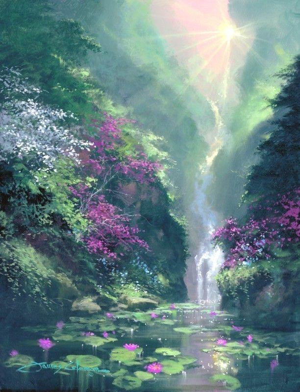 James Coleman Sunrise Dream Fascination St Animation
