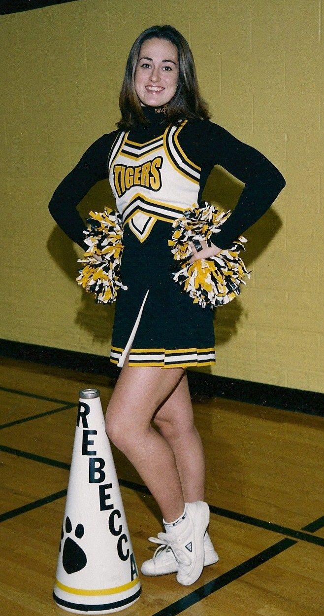 schoolgirl cheerleader flash rebecca aka becky