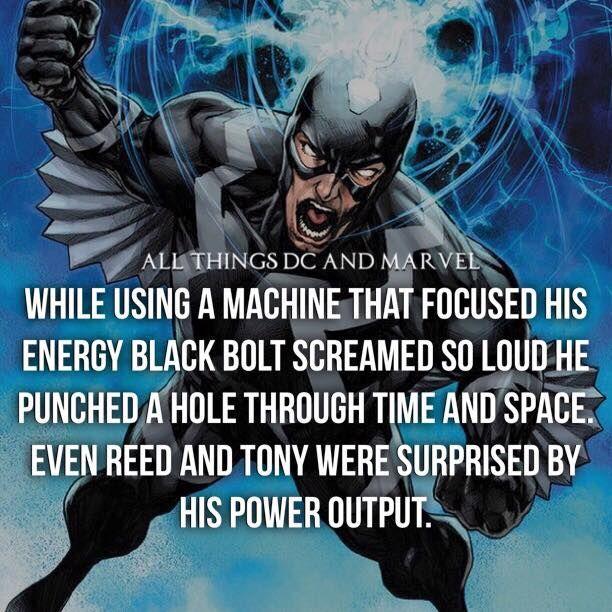 Black Bolt's power