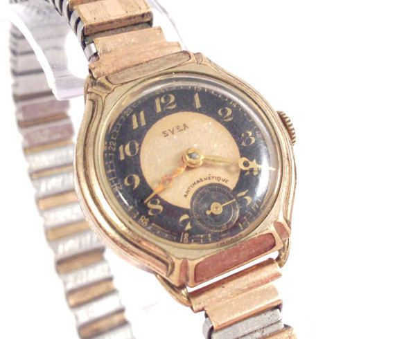 1940's Svea Ladies Watch Vintage Womens Watch by StonebrookVintage