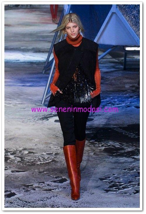 H&M 2015 sonbahar/kış tasarımları #hm #moda #2015 #sonbahar #kış #autumn #winter #collection #sweater #trousers #boot #jacket