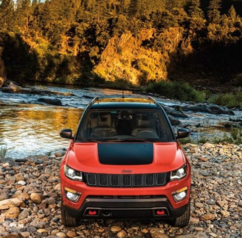 A sport utility vehicle has never looked so stylish... The 2017 Jeep Compass