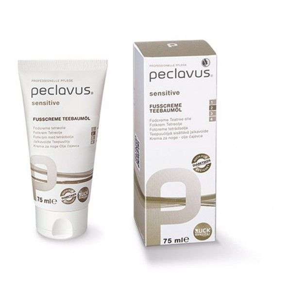 peclavus® sensitive Fußcreme Teebaumöl | peclavus® sensitive | Peclavus | SHOP | RUCK-Onlineshop
