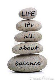 Life it's all about balance #quote La vida es todo sobre balance/equilibrio.