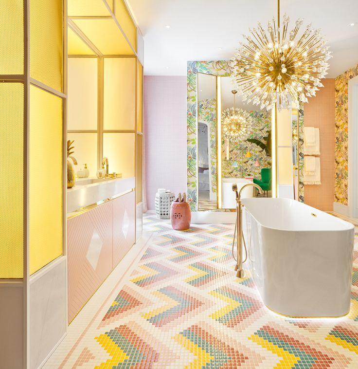Bathroom by Nuria Ala Casa Decor 2017