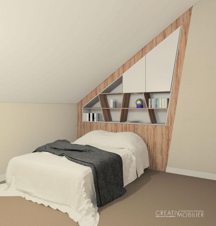 Pourquoi Ne Pas Installer Une Tete De Lit Dans Votre Chambre Tetedelit Chambre Decoration Madeifrance Idees De Lit Mobilier Lit