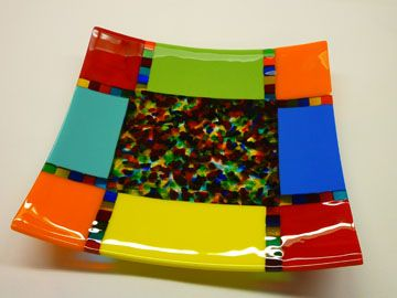 Fused Scrap Melt Plate, May 4 & 5 11-2pm - Click Image to Close