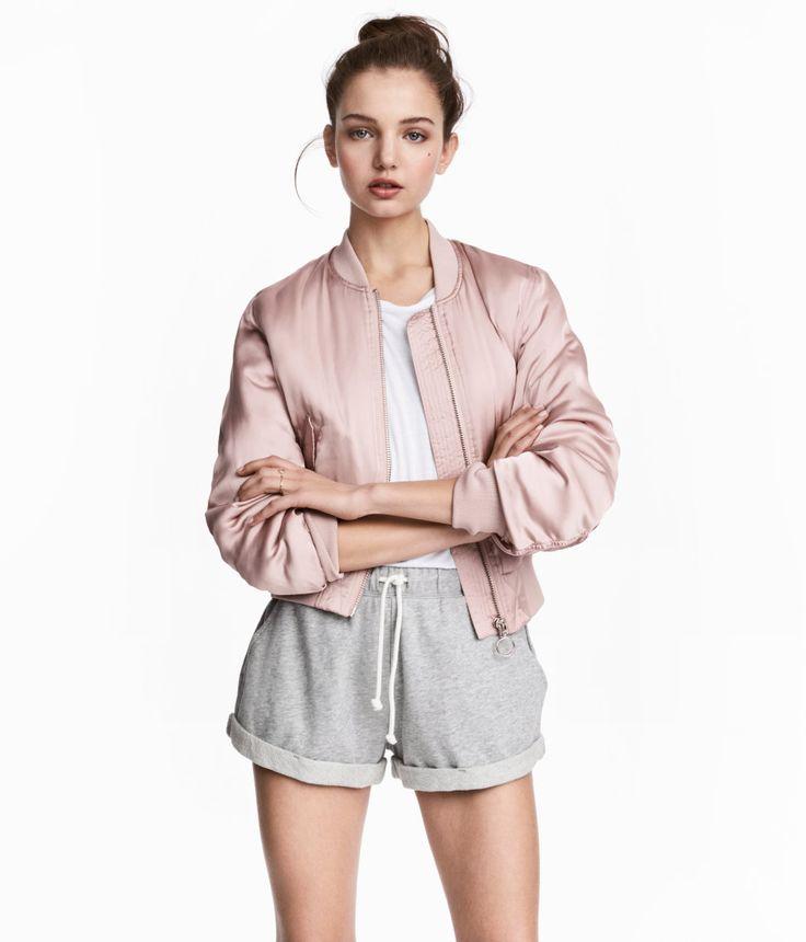 Sweatshorts | Gray melange | Women | H&M US