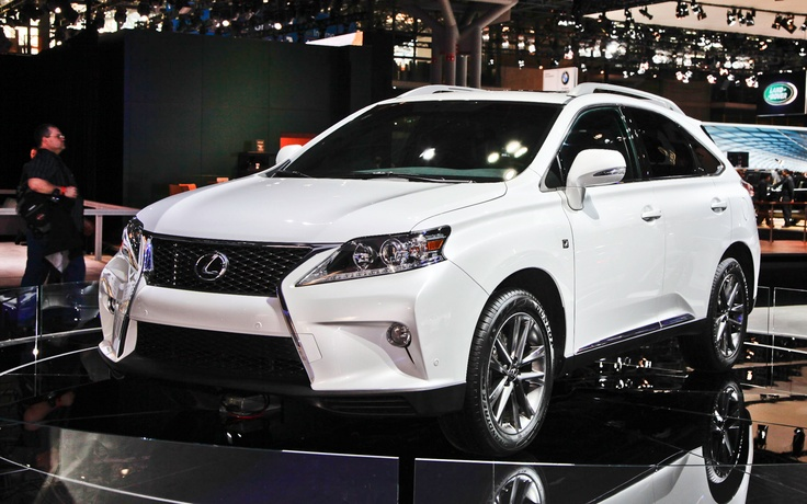 2012 New York: Lexus Builds 2013 RX 350 F Sport with Eight-Speed Automatic - WOT on Motor Trend