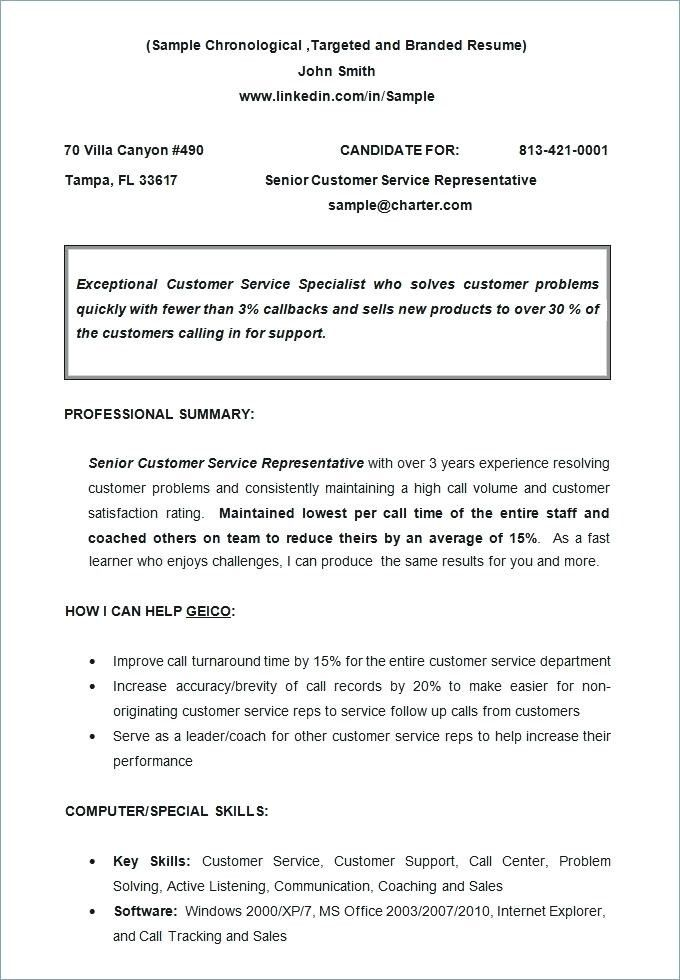 Non Chronological 3-Resume Templates Chronological resume