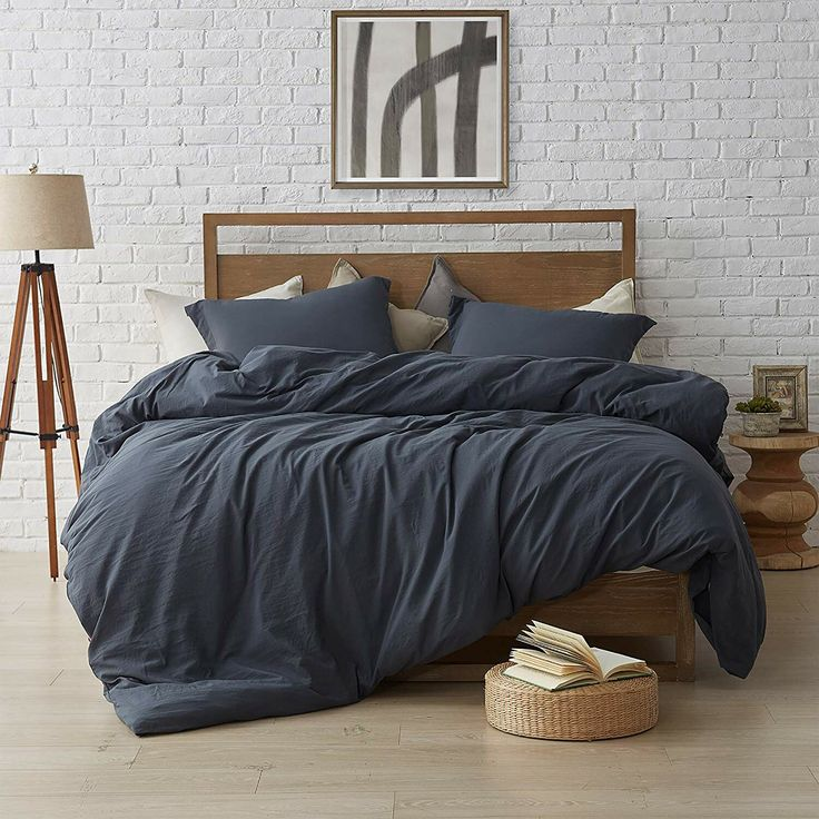 Red Barrel Studio Wendling 3 Piece Duvet Cover Set Black Comforter Comforter Sets Comfortable Bedroom