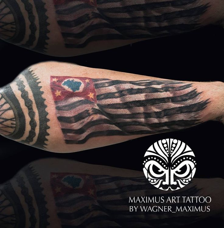 Pin By Andrew Wagner On Tattoo Designs: Tattoo Bandeira São Paulo