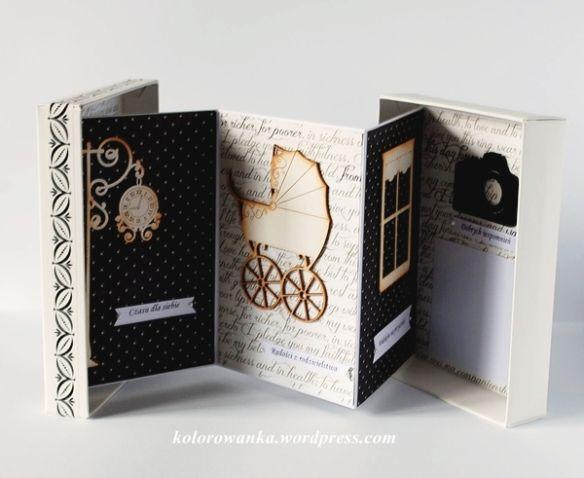 kartka-pudełko środek
