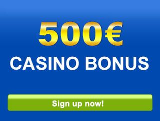 mybet Casino offers an amazing 100% up to 500 € bonus to all new casino players. One of Europe's leading providers of Sports Bets, Casino and Poker. Government licensed and safe. Excellent and fast customer service. Play and win right away without downloading any software.