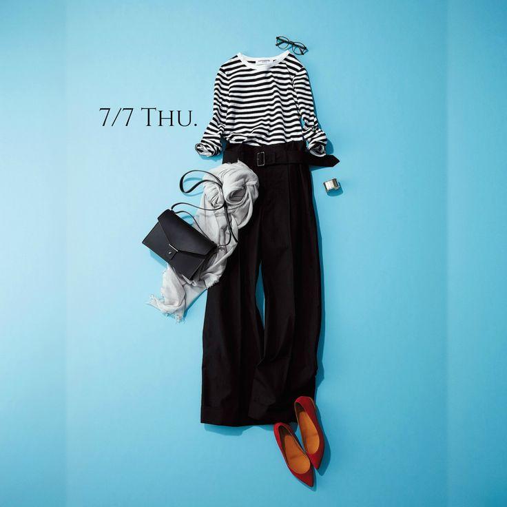 明日は七夕。ふんわりストールで織姫をほんのり意識してみてはMarisol ONLINE|女っぷり上々!40代をもっとキレイに。