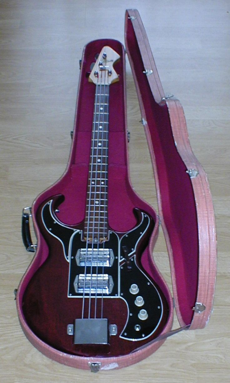 Vintage S Ibanez Bass Japan Very Rare Early Model