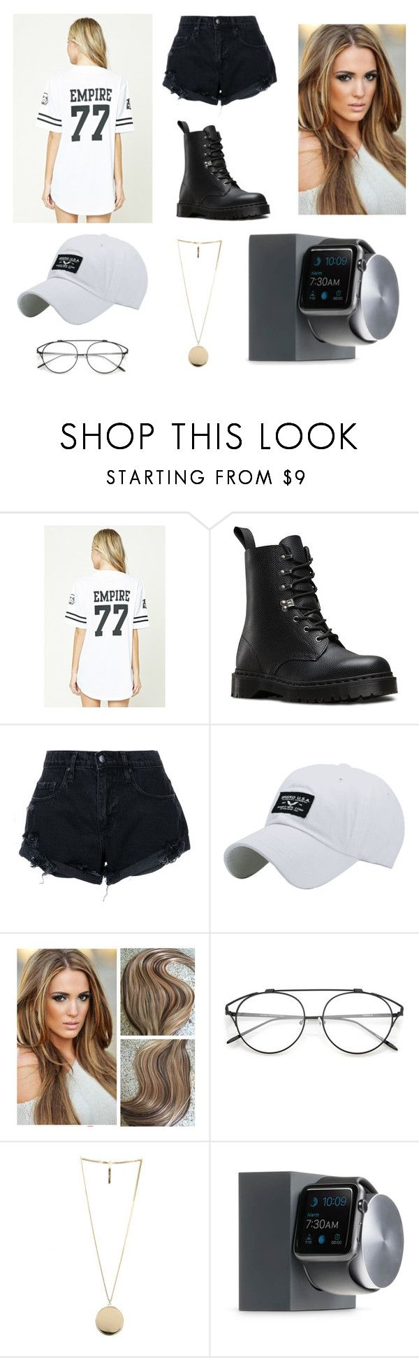 """W§G"" by sallimayssi on Polyvore featuring mode, Forever 21, Dr. Martens, Nobody Denim, Givenchy et Native Union"