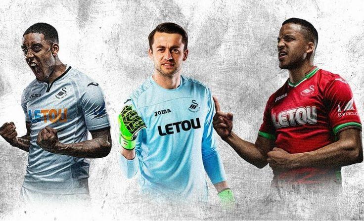 Swansea City 2017/18 Joma Home and Away Kits