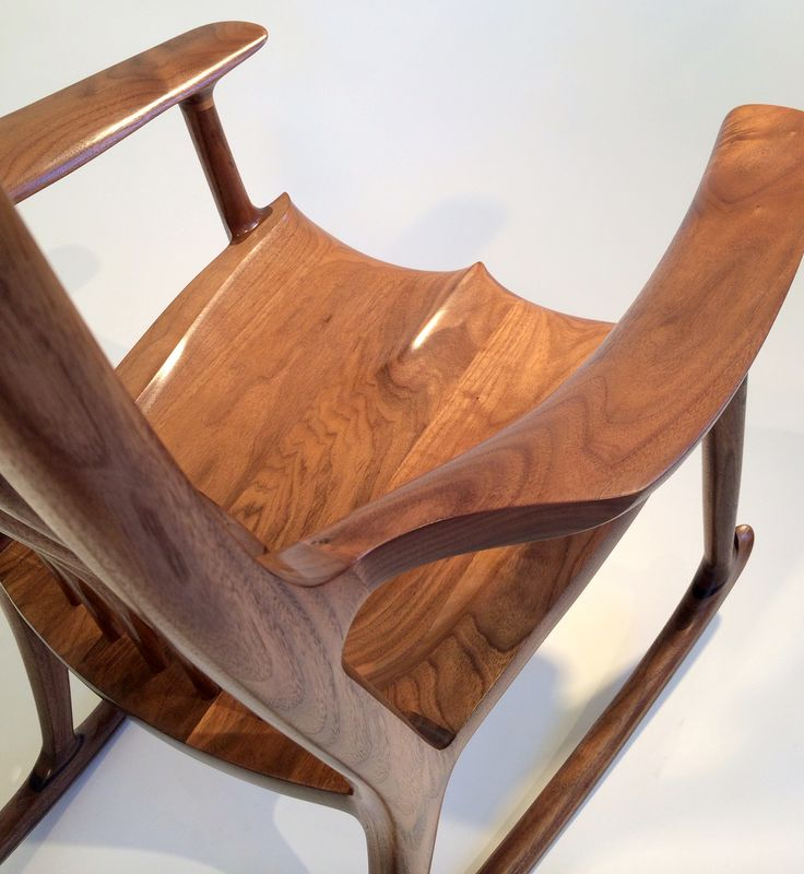 chair classic maloof rocking chair see more 1154 a sam maloof walnut ...