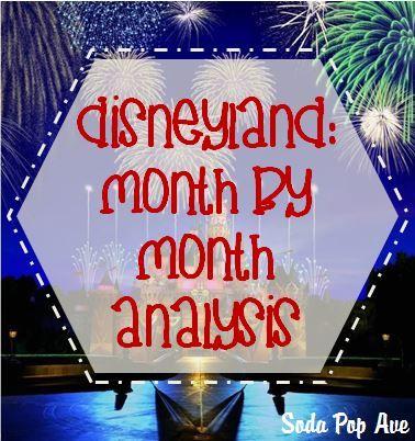 Disneyland: Month by Month Analysis
