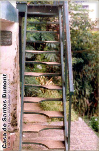 Casa de Santos Dumont vista de frente