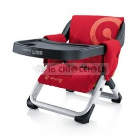 Seat Table Concord Lima 2013 to 79 € instead of 84 €!  The upward travel CONCORD LIMA is a perfect synthesis between functionality designed for the child and a modern and linear. With a single gesture may be set at any chair, so as to integrate the child in the family events. The upside for kids is quick and easy to fold. Small, compact and easy to handle, CONCORD LIMA is ideal for travel.  http://www.lachiocciolababy.it/bambino/seggiolino_da_tavolo_concord_lima_2013-5275.htm