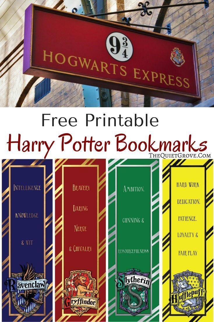 Bist du ein Harry Potter Fan? Dann werden Sie diese Free Harry Potter Printable lieben …
