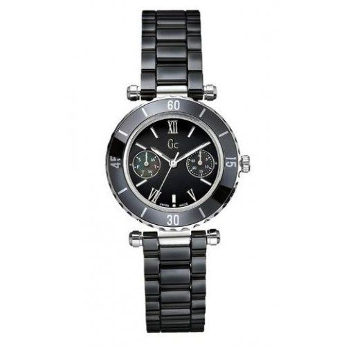 Gc – Montre Gc femme bracelet céramique noir fond noir – Femme | Your #1 Source for Watches and Accessories