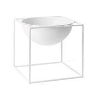 Kubus skål, hvit,  23x23x23 cm, By Lassen, Mogens Lassen