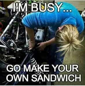 motorcycle quotes for girls - Google Search                                                                                                                                                     More