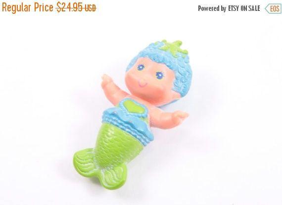 Sea Wees Vintage Kenner Baby Whirl Bubble Ballet Baby Mermaid  Pink Room  160920 by ThePinkRoom