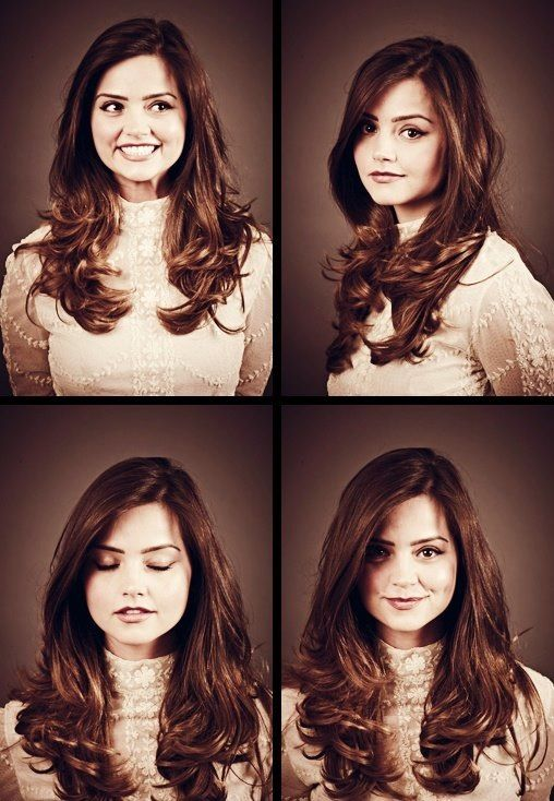"Jenna-Louise Coleman. Who plays Clara ""Oswin"" Oswald. Current Doctor Who companion and completely gorgeous!"