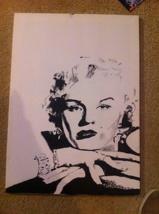 Marilyn Monroe portrait
