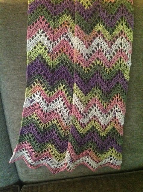 Ravelry: Chevron Lace Wrap pattern by Tamara Kelly