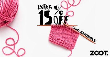 Doar pana pe 18 ianuarie, ai reducere la zoot de 15% la orice produs.  Cod: ANDRELE Cumpara prin Cashback Shopping si primesti 5% bani inapoi din cumparaturi!  #zoot #reducere #cashbackshopping #baniinapoi #primestibani #economisestibani #onlineshopping
