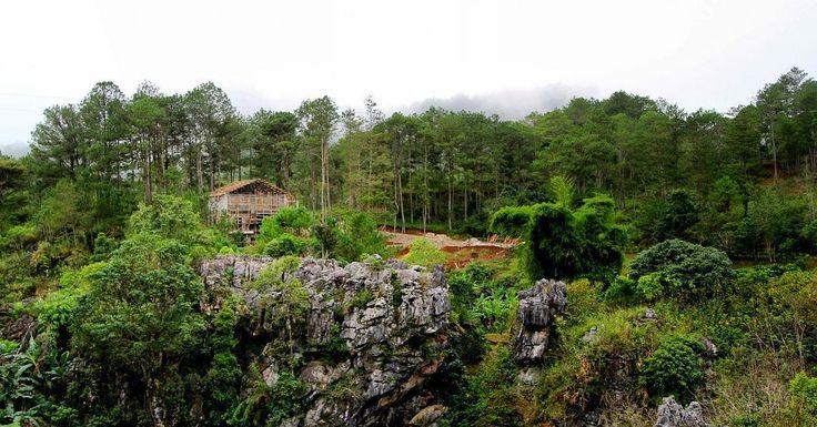 2/3 Throwback in three parts: View from Rock Inn  #Sagada #throwback #mountaingetaway