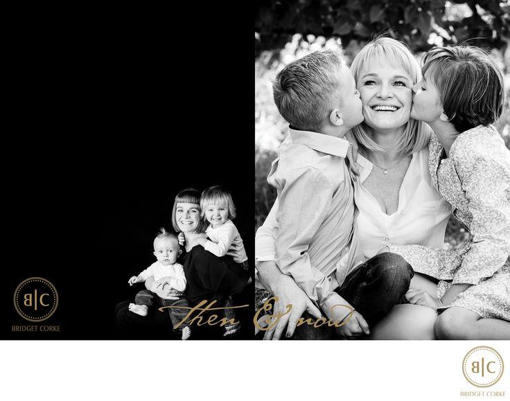 Bridget Corke Photography - Top Johannesburg Family Photographer Then & Now Studio & Location: