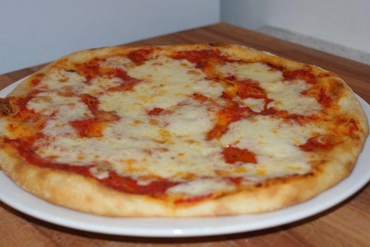 Ladra di ricette: Pizza con la macchina del pane