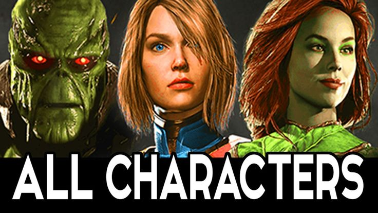 INJUSTICE 2 - All Characters Interactions Intros & Clashes Full 1080p