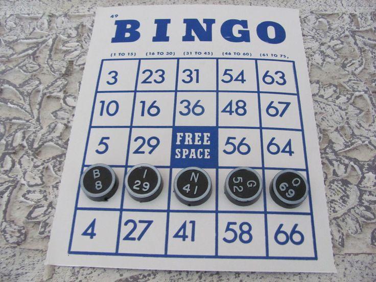 Vintage Toy 1960s Whitman Bingo Game. $21.50, via Etsy.