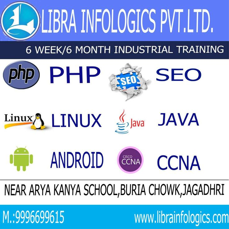 Don't miss out this GOLDEN OPPORTUNITY.  Libra Infologics Pvt. Ltd. is providing Industrial Training Courses in following Programming Languages :  1) Android Training 2) Java 3) PHP 4) Linux 5) CCNA 6) Digital Marketing  Hurry Up ! Grab the chance. Feel free to contact at 9996699615 for any query