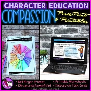 Teach your students all about compassion and help develop well-rounded characters and a harmonious classroom community.