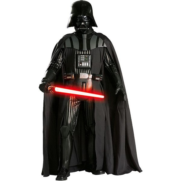 Rubie's Darth Vader Supreme Collectible Dress-Up Set ($550) ❤ liked on Polyvore featuring costumes, star wars halloween costumes, rubies halloween costumes, star wars darth vader costume, darth vader halloween costume and rubies costumes