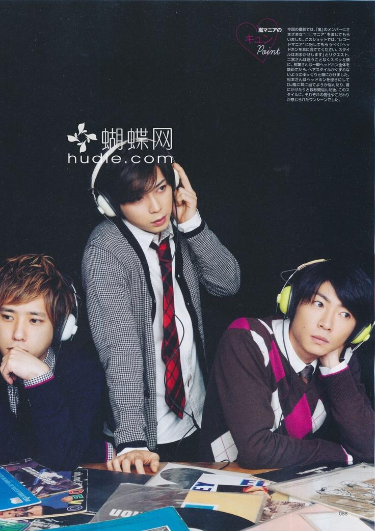 Arashi 2013 scans - Matsumoto , Nino, Aiba