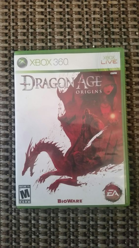Dragon Age: Origins (Microsoft Xbox 360, 2009) Used Fast Shipping Great Buy Game