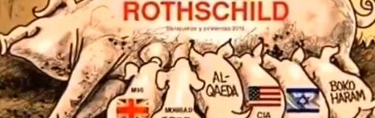 Russische tv ontmaskert Rothschilds en Nieuwe Wereldorde. Dit onthullende nieuwsitem doet veel stof opwaaien - http://www.ninefornews.nl/russische-tv-ontmaskert-rothschilds/