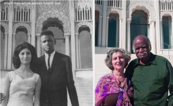Melting pot interracial marriages